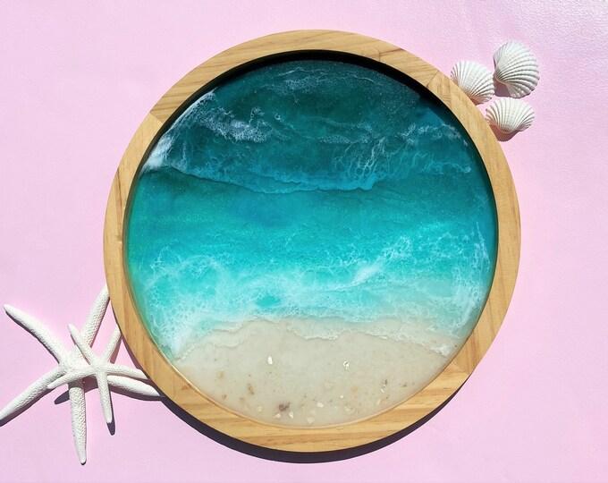 Ocean Beach Tray: 15 inches