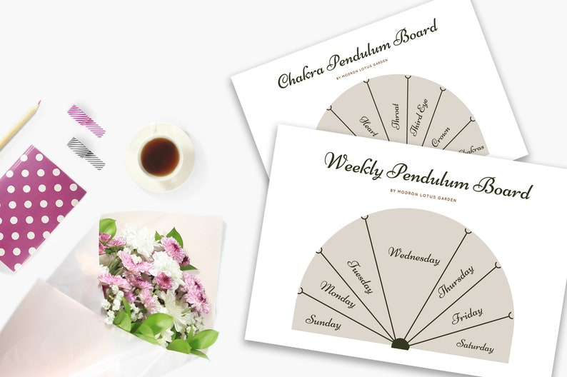 image relating to Printable Pendulum Board identified as A5 Sized Printable Pendulum Discussion boards, 3 Pack of Discussion boards for Your E-book of Shadows or Divination Magazine, Immediate Down load Site Inserts by PDF