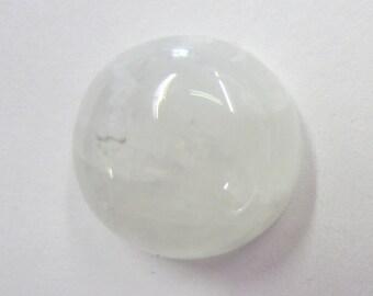 16mm Round Natural Rainbow Moonstone Cabochon CALIBRATED Semi Precious Gemstone 12G119 Loose Stone Cab