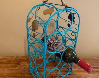 Wrought Iron Wine Rack Etsy