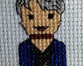 BTS Jimin Cross Stitch Pattern