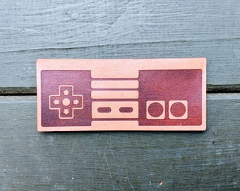 Leather Nintendo Controller Full Size