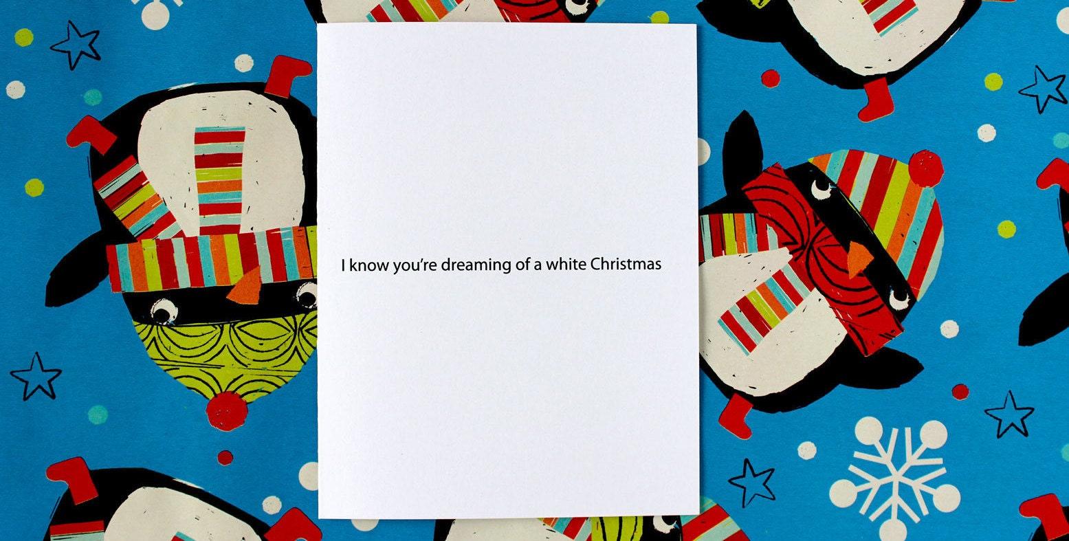 Rude Christmas Card Funny Christmas Card Meme Christmas | Etsy