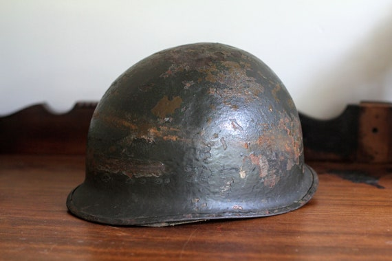 WWII Military M1 Helmet with Liner