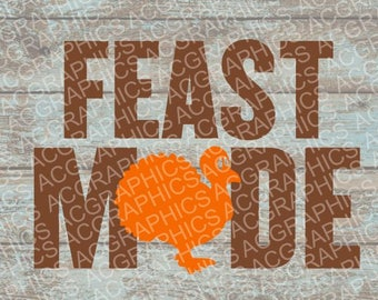 Feast Mode SVG, DXF, JPEG, and Studio Downloads