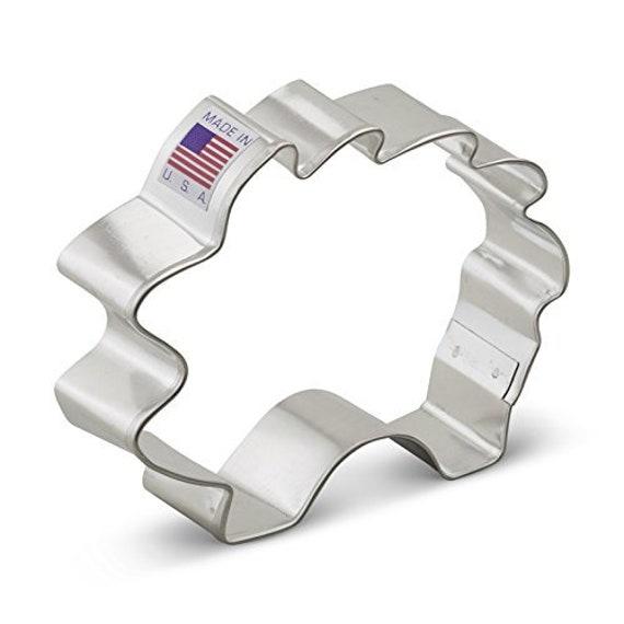 "Ann Clark  4 1//4/"" Diploma  Cookie Cutter  Tin Plated Steel USA Graduation"