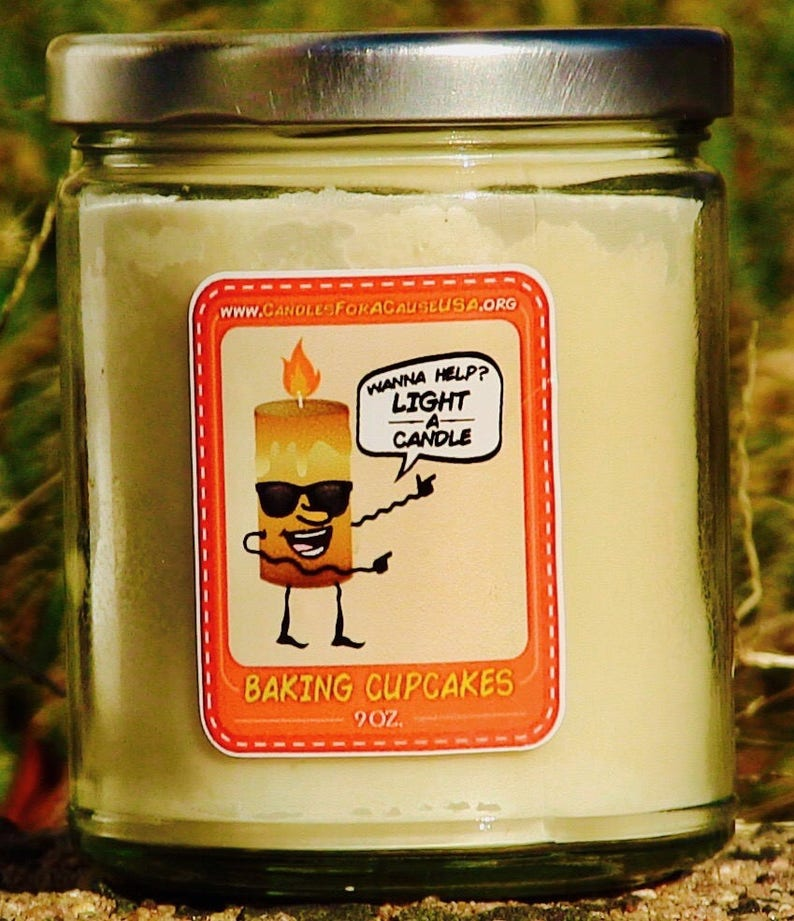 Candles For A Cause Soy Candles Made in the USA image 0