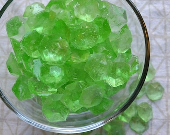 Key Lime Gems Hard Candy, Key Lime Candy, Lime Candy, Vegan Candy, Hard Candy, Citrus Candy, Natural Flavor Candy, Candy Favor