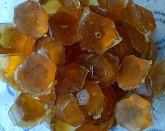Natural Horehound Gems Hard Candy, Horehound Candy, Herbal Candy, Marrubium Vulgare, Vegan Candy, Natural Candy