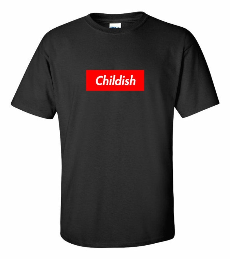 a0bf7a5e487 New Childish Gambino T-Shirt Because The Internet Donald