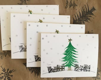 Set of 4 - Oh Christmas Tree! Pack