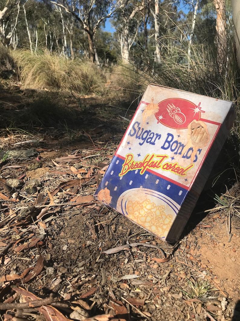 Fallout 4 Sugar Bombs Cereal Box Replica