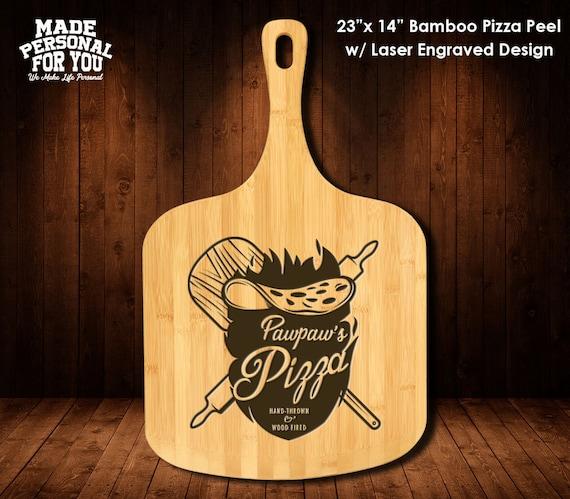 Personalized Pizza Peel. 23