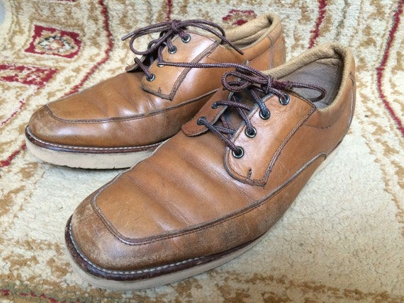 Vintage Red Wing Brown Leather Men's