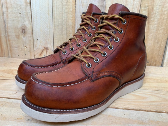 Red Wing Heritage  Leather Boots 875 Oro Legacy Mo