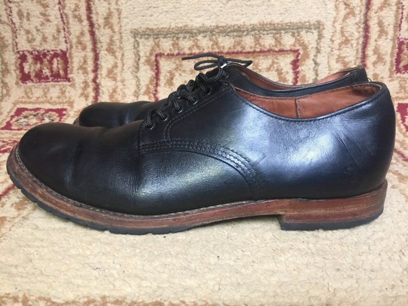 065f8dd8cc5f8 Men's Red Wing Heritage Beckman Oxford Brown Style 9043 Black Shoes 11.5 D