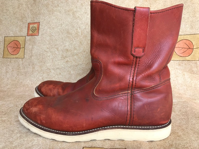 129a60ef2a2 Men's VINTAGE Red Wing Irish Setter Boots Pecos Men's Made In USA 12 C
