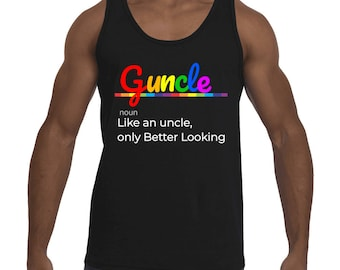 Guncle Gay Uncle Men's Tank-Top