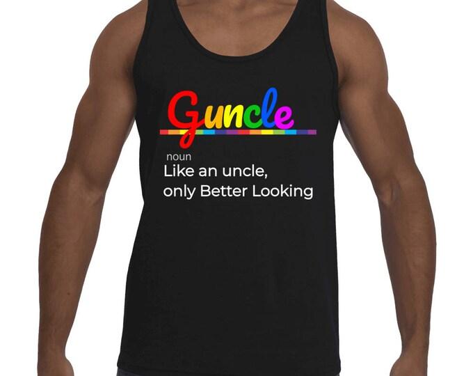 Guncle Gay Uncle Men's Tank-Top