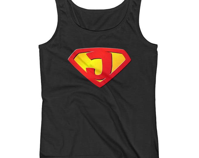 Super Jesus is my SuperHero Ladies' Religious Tank top