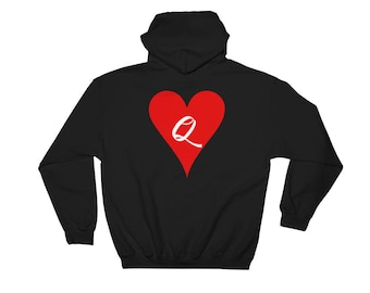 The Queen Of Hearts Disney Hooded Sweatshirt