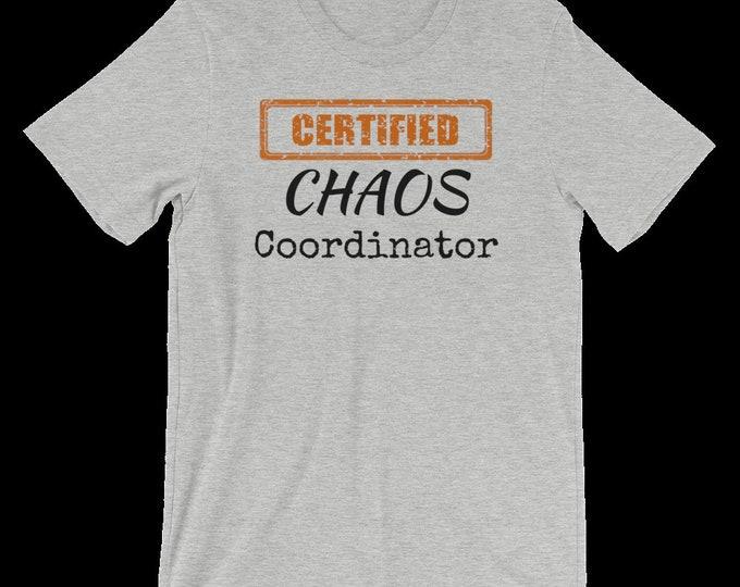 Custom Order - 2 Custom Chaos Coordinator double sided shirts