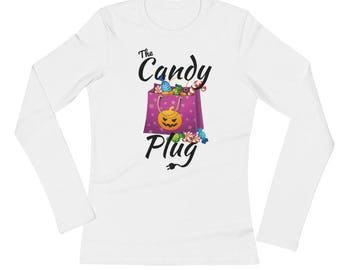 The Candy Plug Ladies' Long Sleeve T-Shirt