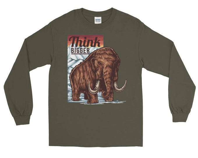 Think BIGGER Motivational Long Sleeve T-Shirt