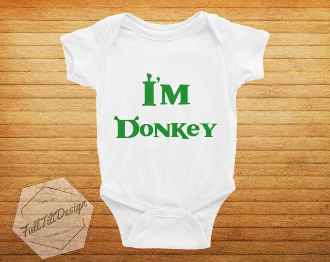 I'm Donkey Baby Onesie