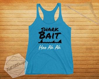 Shark Bait Finding Nemo Racerback T-Shirt