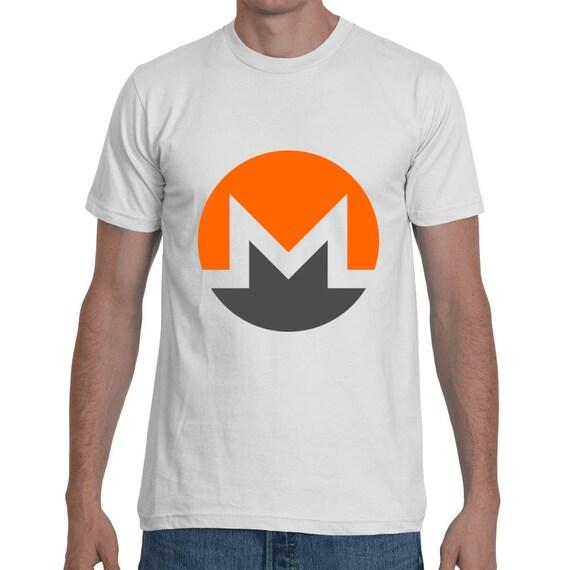 Monero XMR Crypto Currency t-shirt Short-Sleeve Unisex T-Shirt
