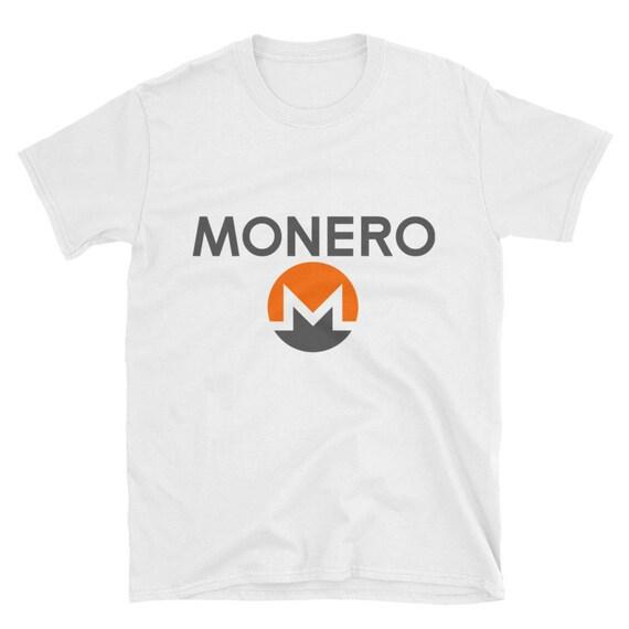 XMR Monero Crypto-Currency Mining Short-Sleeve Unisex T-Shirt