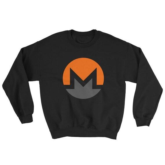 XMR Monero Crypto-currency Digital Coin Sweatshirt BTC Bitcoin ICO