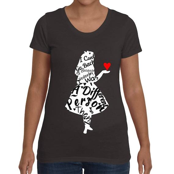 Alice in wonderland Women's short sleeve t-shirt