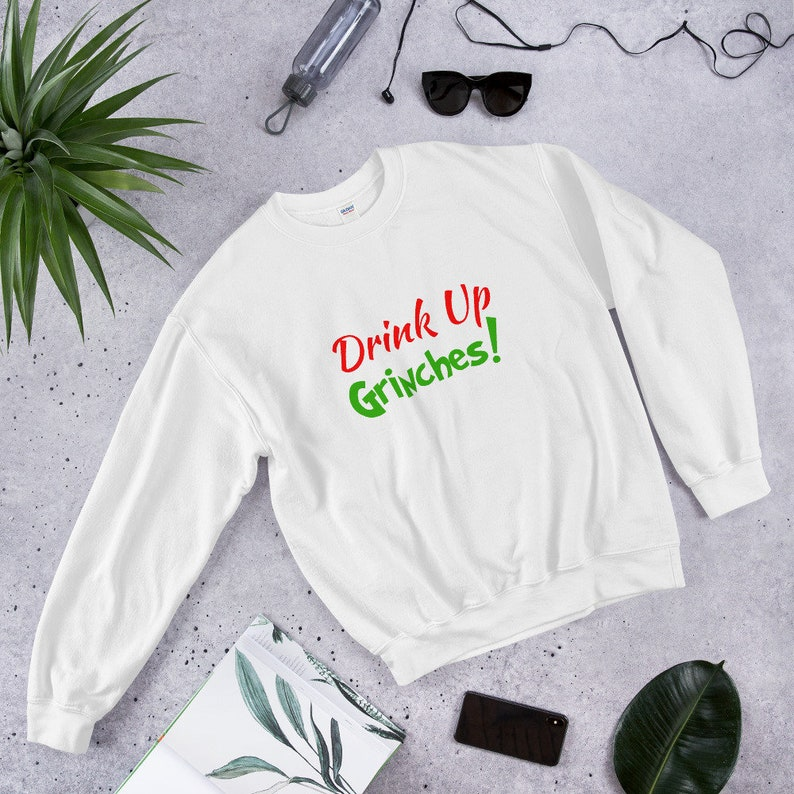 9d63a212c Drink Up GRINCHES How The Grinch Stole Christmas Funny and   Etsy