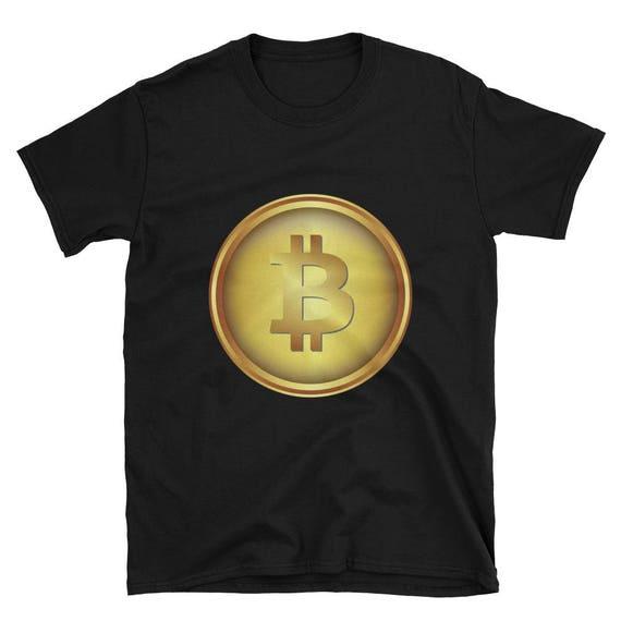 Bitcoin BTC Crypto-Currency Digital Coin Short-Sleeve Unisex ETH Ethereum ICO T-Shirt