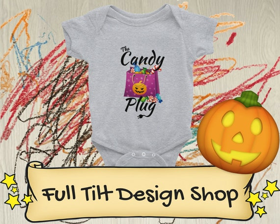 The Candy Plug Halloween Infant Bodysuit