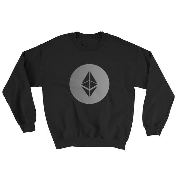 Ethereum Crypto-Currency Digital Coin ETH Sweater ICO Bitcoin Tech SweatShirt