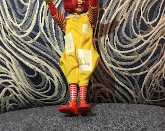 1970's Ronald McDonald Vintage Toy!!!!