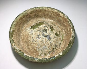 Ancient Roman glass museum Quality,Roman glass Jar Base,Archaeology excavation ancient artifact,roman empire ancient glass