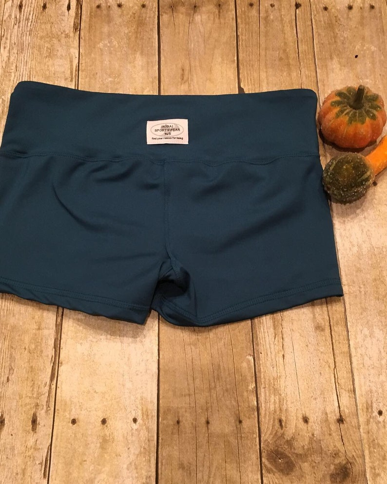 Teal booty short