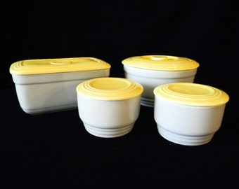 General Electric Refrigerator Dish Set by Hall Ovenware China