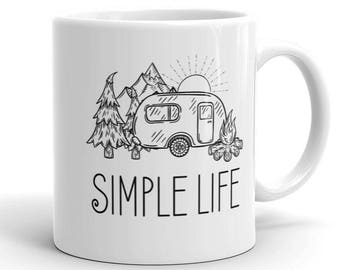 Simple Life Camping Mug