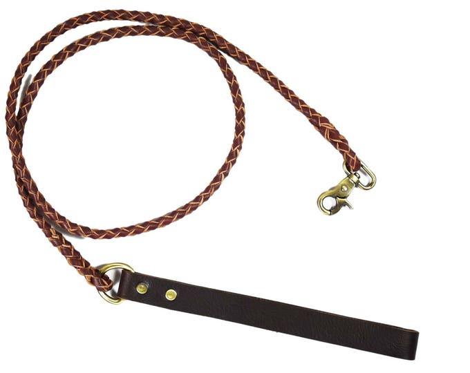 Leather Leash, Leather Lead, Dog Leash, Pet Leash,