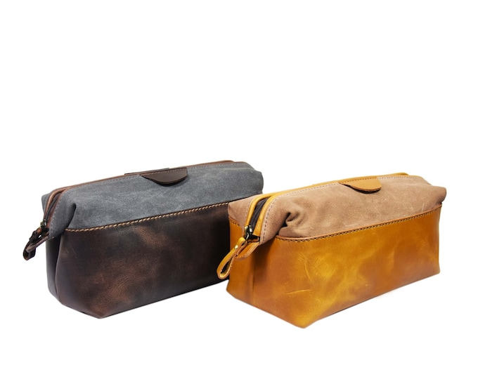 Leather & Waxed Canvas - Adonis