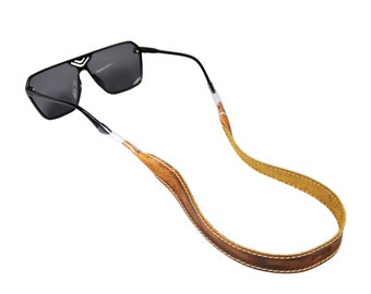 599f7de5724 Leather Sunglass Strap   Sunglass retainer   Strap for Sunglasses
