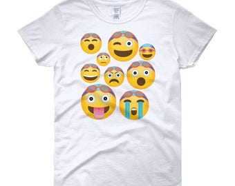 c6f42891 Fun Swimmer Emoji Cloud Women's short sleeve t-shirt - Emoji Shirt - Swim  Emoji Shirt - Swimmer Emoji T Shirt - Gift For Swimmer
