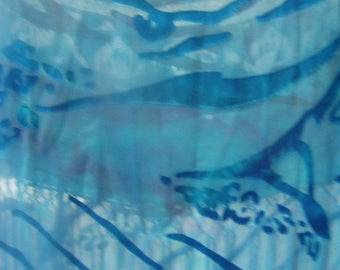 Devore Cut Satin Silk rayon fringed Scarves