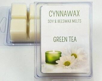GREEN TEA Soy & Beeswax Melts