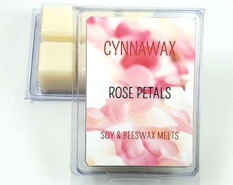 ROSE PETALS Soy & Beeswax Melts